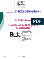 UNIT-I Introduction to Design Process [Bhaskar]