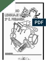 Cuaderno lenguaje musical