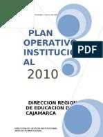 Plan Operativo Cajamarca