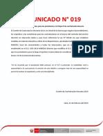 COMUNICADO-N°-19