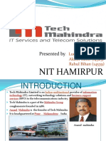 Tech Mahindra Case Study Iot Site