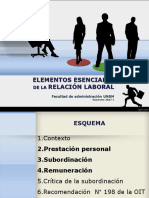 Sesion 03 Elementos Esenciales de La Relación Laboral