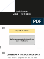 PROGRAMACION II Semana2_Sesion0 Anexo-Instalando JAVA-NetBeans