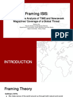 Framing ISIS Ppt.