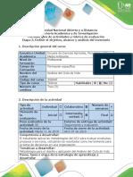 Guía de actividades y rúbrica de evaluación - Etapa 3 - Definir el objetivo, alcance del ACV y análisis del inventario.pdf