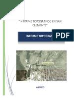 INFORME TOPOGRAFICO SAN CLEMENTE.docx