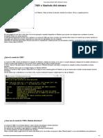 Como Usar La Consola de CMD o Símbolo Del Sistema