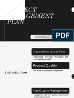 Project Quality Management Presentation