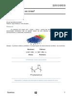 Química Básica-do Que São Feitas as Coisas