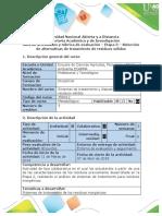 Guía de actividades y rubrica de evaluación- Etapa 3 - Selección de alternativas de tratamiento de resiudos sólidos.pdf