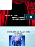 Examen Fisico Del Sistema Nervioso