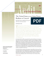 US an Asian Power