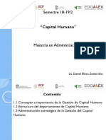 Concepto y Evolución Del Capital Humano
