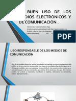 El Buen Uso de Los Medios Electronicos y de Comunicacion (Cesar Mtz.)