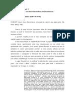 Fichamento - Homo Hierarchicus, De Louis Dumont