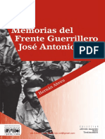 Abreu Hernan Memorias Del Frente Guerrillero Jose Antonio Paez
