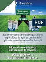Guia de Cobertura Donaldson Para Sistemas de Combustible Racor