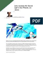 Attenborough's Our Planet