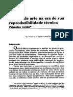 BENJAMIN, Walter. A obra de arte na epoca de sua reprodutibilidade tecnica.pdf