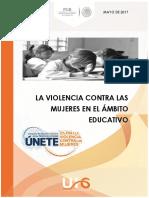 5. Entee Rate Violencia Contra Las Mujeres en El a Mbito Educativo Mayo