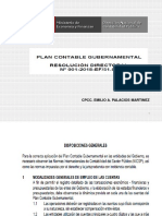 Plan Contable Gubernamental 2018