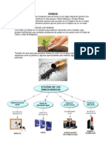Aplicaciones de Las Sales, Óxidos, Hidróxidos y Ácidos