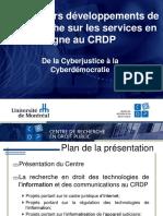 Presentation CRDP Quebec