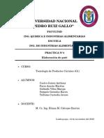 PRACTICA N°4-ELABORACIÓN DE PATÉ