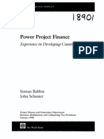 Power Project Finance