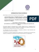 Infraestructura en México AIM CONACyT