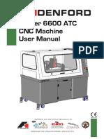 Router 6600 ATC Operator Manual