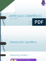Exposición Artículo científico