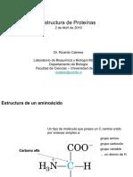 2019.04.02 Estructura de Proteinas