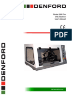 Router 2600 Pro Operator Manual