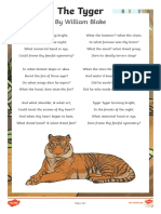 Poetry the Tyger