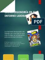 Crono Ergonomía en El Entorno Laboral