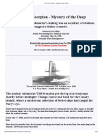 The USS Scorpion - Mystery of the Deep