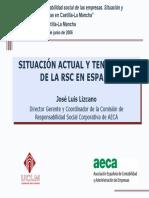 Situacion Actual y Tendencias de La RSC en España