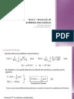 Tema 2 - Resolución de Problemas Electrostáticos (1)