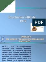 RESOLUCION 2400
