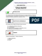 Unidad I - Sistema Operativo