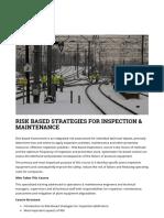 Risk Based Strategies for Inspection & Maintenance – Akademie-ibs.de