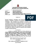 Ri 0024129-32.2015.8.05.0001 Condomínio Indenizatória Infiltrações Perícia Sentença Extintiva Mantida