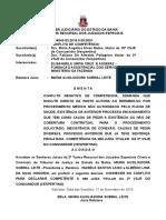 Ri 0064542-53.2016.8.05.0001 Conflito de Competência Conexão Causa de Pedir Diversas