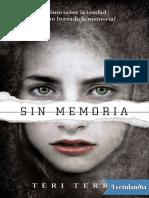 #1 Sin memoria - Teri Terry.pdf