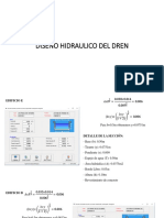 Diseño Hidraulico Del Dren