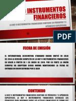 Niif 09 Instrumentos Financieros