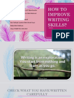 How to Improve Writing Skills Mpu