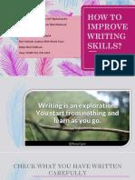 How to Improve Writing Skills Mpu