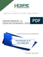 metodologia de investigación